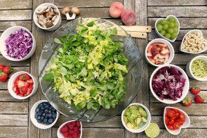 čerstvé ovoce a zelenina na prostatu
